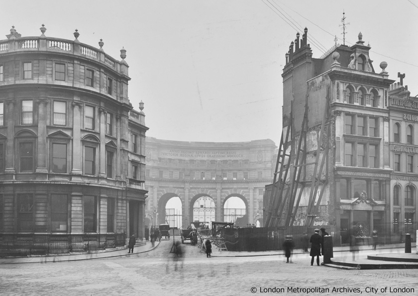 Admiralty Arch - 1910 -