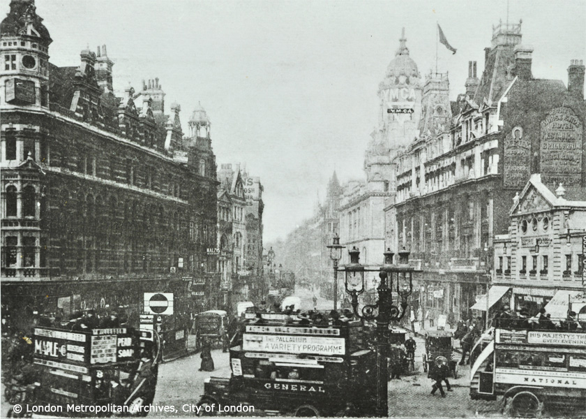 Tottenham Court Road - 1912 -