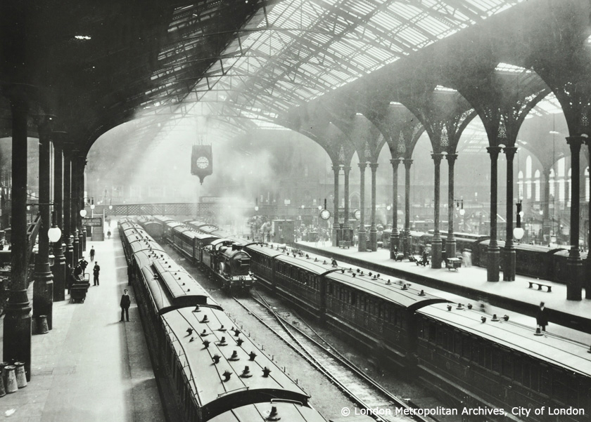 Liverpool Street Station - 1905 -