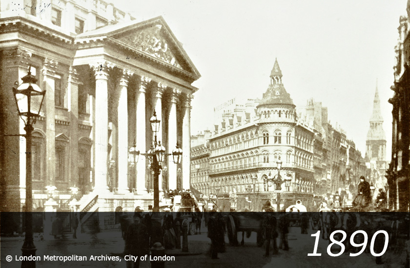Mansion House - 1910 -