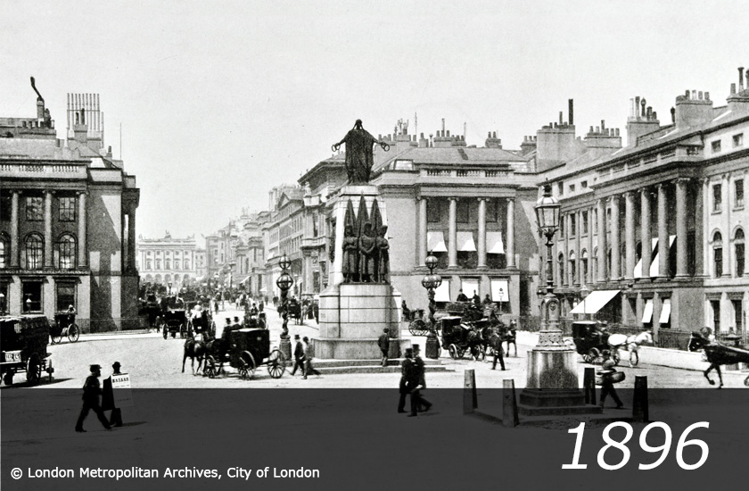 Waterloo Place - 1896 -