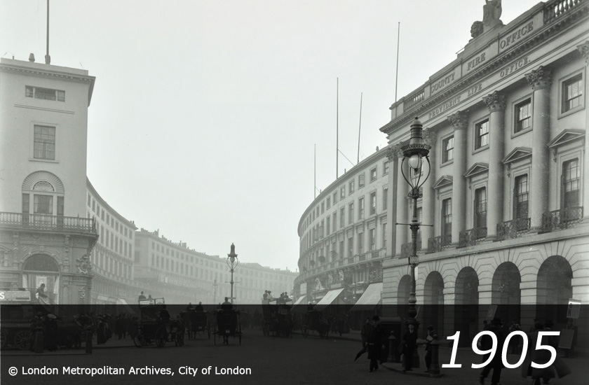 Piccadilly Circus - 1895 -