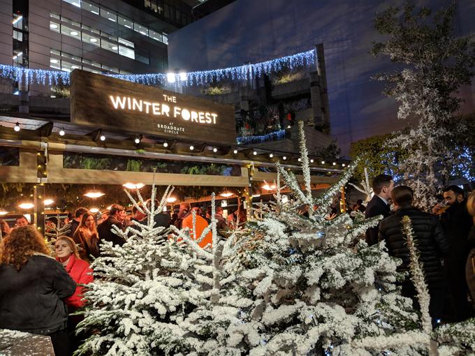 マジカルな冬の森 シティに出現 the winter forest onlineジャーニー